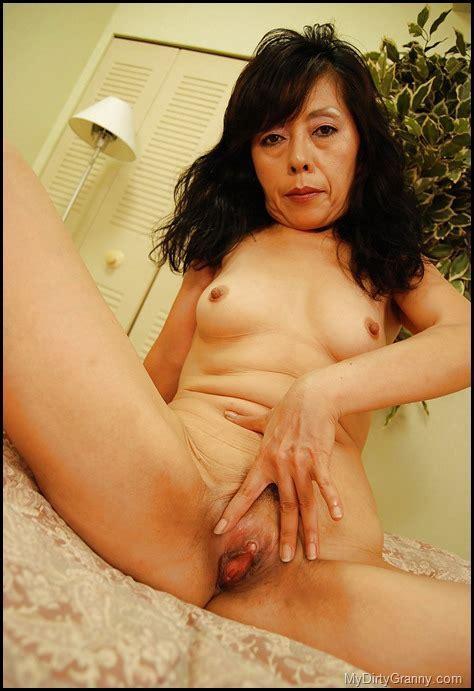 Turgid Clit Asian Granny With Hairy Cunt Mydirtygranny