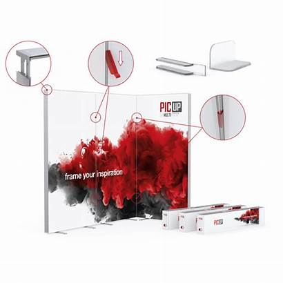 Picup Systems Displays Exhibition Walls Produkte Aus