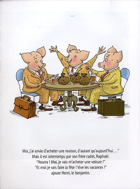 conseils cuisine igor et les trois petits cochons relié geoffroy de