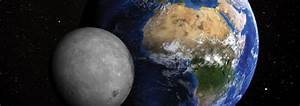 The Solar System  Earth And Moon