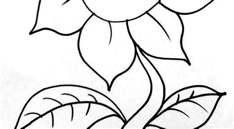 wajib tahu contoh gambar bunga untuk anak tk yang wajib