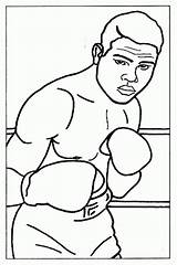 Coloring Boxer Boxing Pages Louis Joe Sheet Sheets Books Printable Olympic Clip Popular Library Clipart Results Coloringhome Categories Similar sketch template