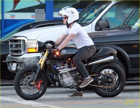 casual motorcycle josh hutcherson casual motorcycle cruiser photo 643436