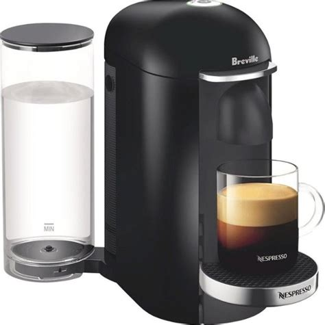Offering freshly brewed coffee with crema as well as delicious, authentic espresso, the vertuo machine conveniently makes two cup sizes, 7.7 fl. Nespresso VertuoPlus Deluxe Coffee Maker and Espresso Machine by Breville Multi BNV420BLK1BUC1 ...