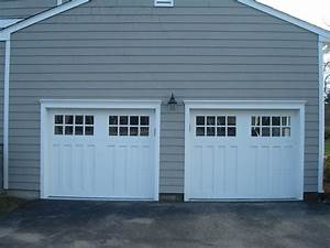 Create carriage style garage doors john robinson house decor for Carriage style garage doors with windows