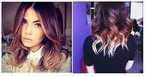 Ombré Hair Chatain : ombr hair caramel mi long ~ Nature-et-papiers.com Idées de Décoration
