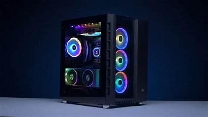 680x Rgb Crystal Series Case Corsair Atx