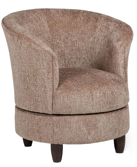 chairs accent swivel barrel chair by best home