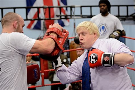 hot shots    day boris johnson boxing