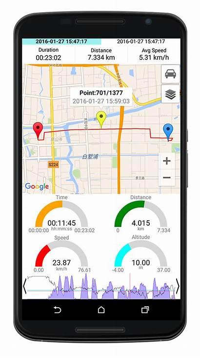 Gps Dashboard Digital Speed Apps Google Record