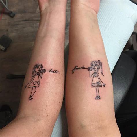 70+ Popular Best Friend Tattoo Ideas That Show A Strong Bond