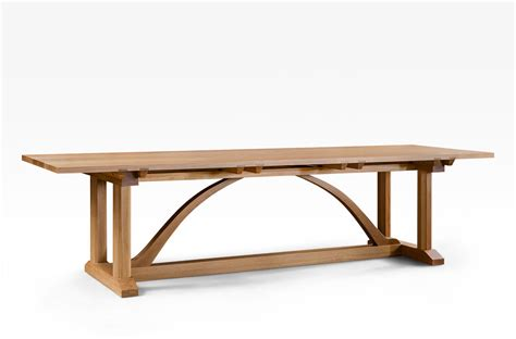 arts and crafts dining table arts and crafts dining table 3000mm lacewood furniture