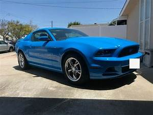 2013 Ford Mustang Low Mileage V6 Automatic Transmission 2d Coupe Grabber Blue