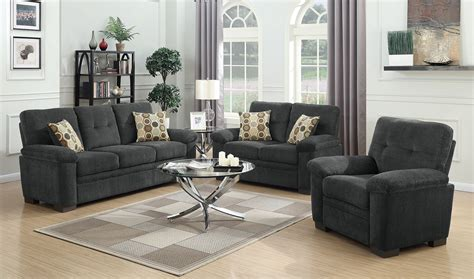 Charcoal Sofa Living Room by Fairbairn Charcoal Living Room Set 506584 85 Coaster