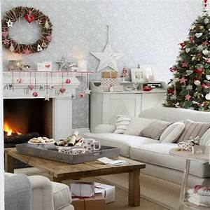 60 elegant christmas country living room decor ideas With christmas living room decorating ideas