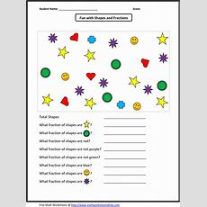 Identifying Fraction Worksheets  What's New  Pinterest  Worksheets, Math And Math Resources