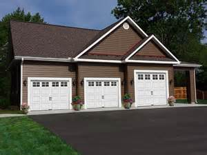 House Plans with 3 Car Garage