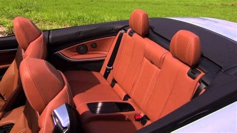 bmw  convertible  interior design youtube