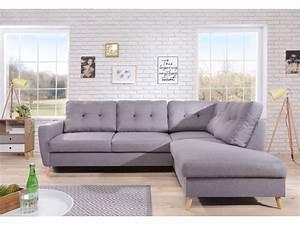 Canapé D Angle Assise Profonde : canap d 39 angle fixe l scandi bobochic ~ Melissatoandfro.com Idées de Décoration