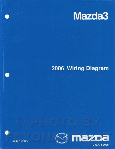 2006 mazda 3 wiring diagram original mazda3
