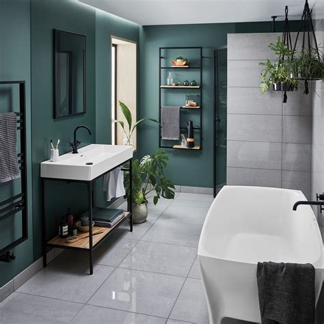 New Bathstore Noir collection ventures to the dark side