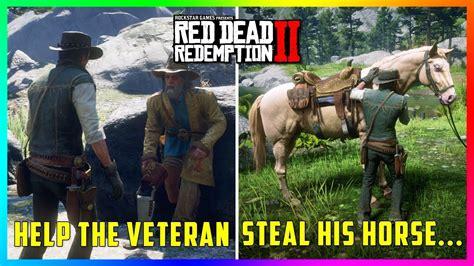 horse rdr2 veteran mission dead redemption completing steal