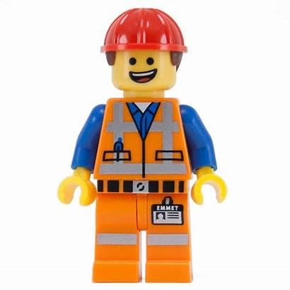 Lego Emmet Hat Hard Minifigure Outline Person