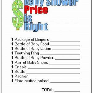Fun Baby Shower Games - Cathy