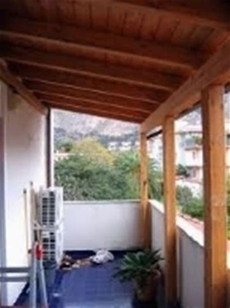 Tettoia Balcone by Tettoie Per Balconi Tettoie Da Giardino