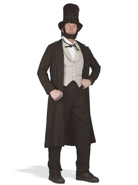 abraham lincoln adult costume mens costumes   wholesale halloween costumes