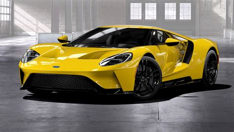 New Sports Cars by Ford Now Taking Orders For The New Gt Sports Car Robb Report
