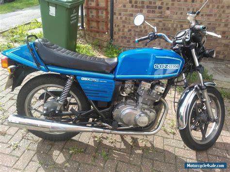 Suzuki 250 Motorcycle For Sale by 1981 Suzuki Gsx For Sale In United Kingdom