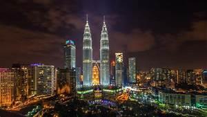 Cityscapes Kuala Lumpur Malaysia Petronas Towers