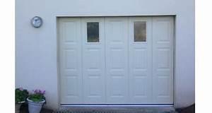 Porte De Garage Sectionnelle Latérale : porte de garage sectionnelle laterale woodgrain ~ Melissatoandfro.com Idées de Décoration
