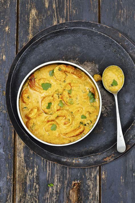 cuisiner gambas crues curry de gambas à la noix de coco régal