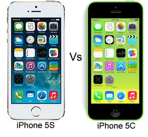 iphone 5c vs iphone 5s apple iphone 5s vs iphone 5c 17442
