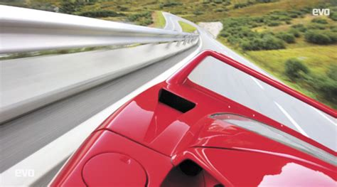 How Much Is A F40 Worth by Ausmotive 187 A Day In The Swiss Alps With A F40