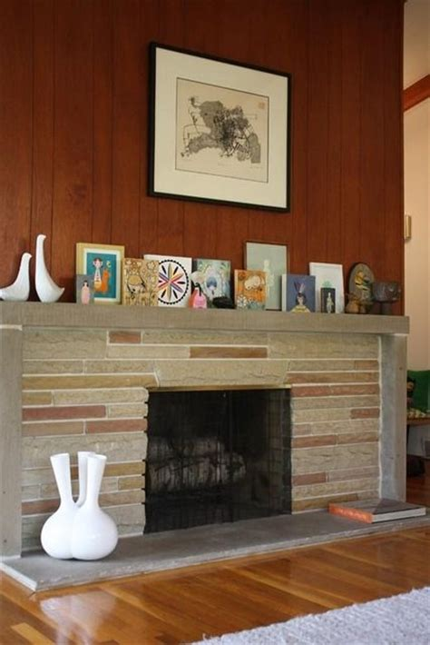 mid century modern mantle 17 best images about mid century modern fireplace on pinterest window treatments how to paint