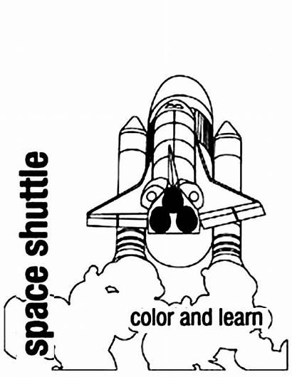 Shuttle Space Coloring Countdown Launched