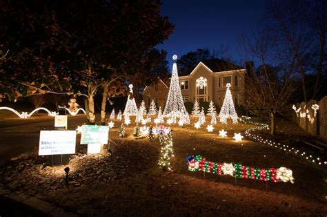 best holiday christmas lights display in atlanta