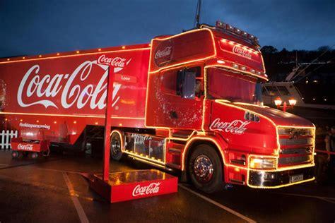 coca cola christmas truck    ireland revealed