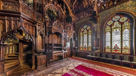 Mansion Of Baron Kelch St Petersburg Russia Gothic