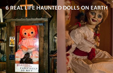 6 Real Life Haunted Dolls That Are Frightening and Creepy