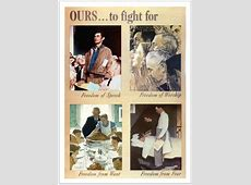 """Norman Rockwell's """"Freedom from Want"""" A PicturePerfect"""
