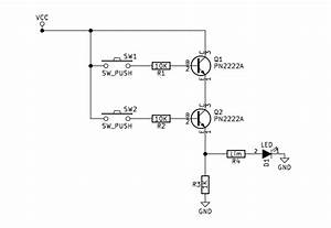 Npn Transistor And Gate Circuit