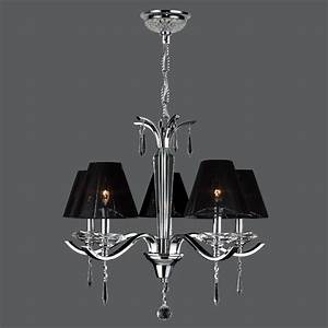 Worldwide W83133c25 Gatsby Chrome 5 Lamp Transitional