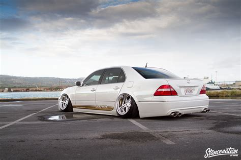 vip lexus ls430 hawaii five ohhhhhh the vpr lexus ls430 stanced rides