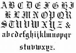 Type Of Letters Writing Popular Calligraphy Alphabet Types