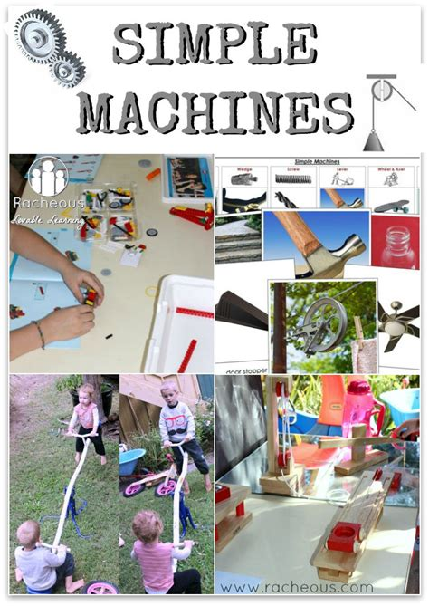 77 best simple machines activities images on 817 | 0354d49da4c87e3dad565757bfcb7fe4 preschool learning teaching kids