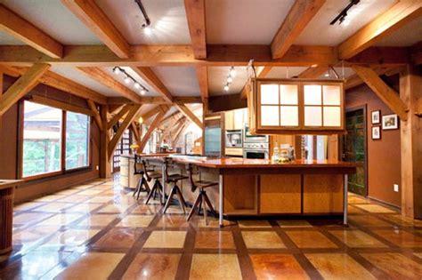 unique timber framed house effortlessly fuse modern